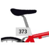 レースナンバーシール2(バイク用